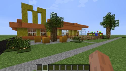 Minecraft McDonald's