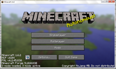 Minecraft with Forge